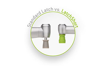 The new LatchShort Polishing System compared with the standard latch system