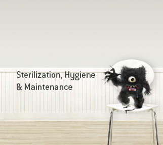 Sterilization, Hygiene & Maintenance
