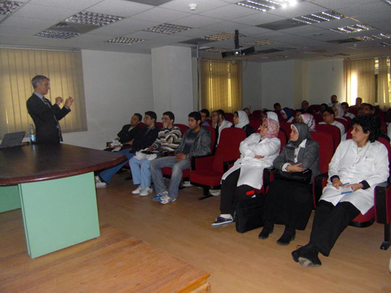 Lecture in Egypt (January 2012)