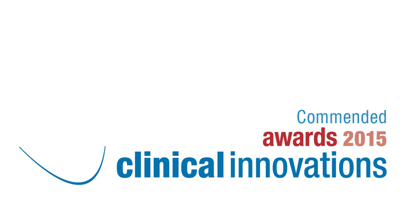 Clinical Innovations Commended Award 2015