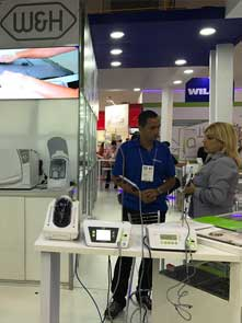 booths of our partners Wilcos do Brasil and Dental Cremer