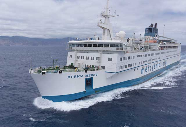 W&H supports the Mercy Ships organization