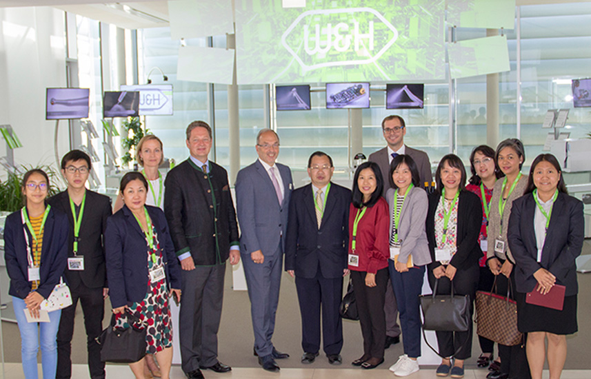 W&H welcomes Thai economic delegation
