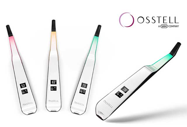 New - The Osstell Beacon supports implant stability