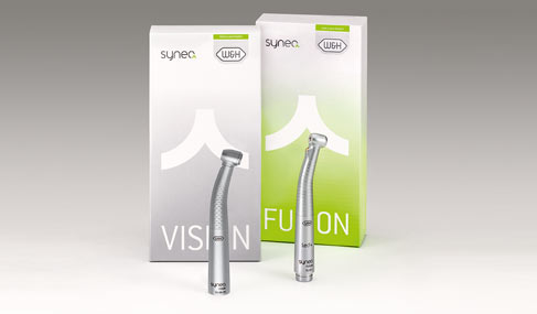The new W&H instrument lines: Synea Vision & Fusion Contra-angles and handpieces