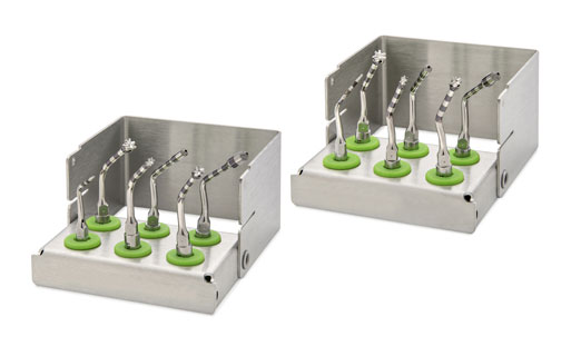 The Implant/Crestal A and Implant/Crestal P instrument sets for implant bed preparation