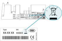 Identification for W&H electrical and electronic products